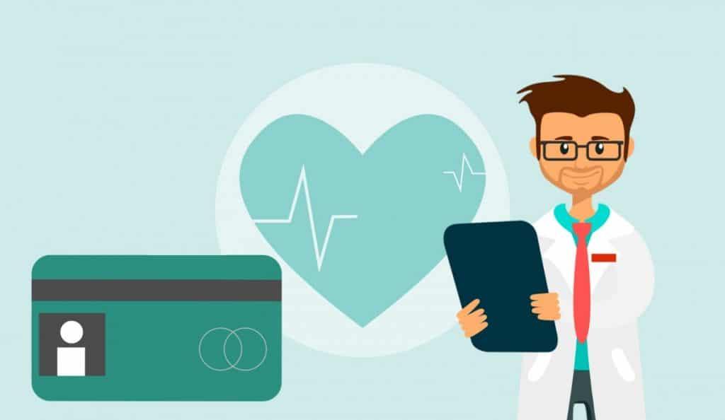 médecin et carte vitale